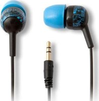 iFrogz Earpollution Bolt In-Ear Headphones (Blue):