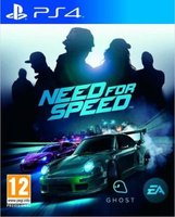 Need for Speed (PlayStation 4, Blu-ray disc):