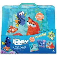 Disney/Pixar Finding Dory 3 Puzzles In Bag: