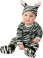 Noo Wear Zebra Costume (4 Piece) (3 - 6 Months):