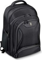 "Port Manhattan Backpack for up to 17"" Notebooks (Black):"