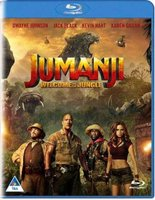 Jumanji: Welcome To The Jungle (Blu-ray disc): Dwayne Johnson, Jack Black, Kevin Hart, Karen Gillan