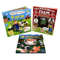 On The Farm 3-Book Collection (Hardcover):