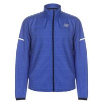 New Balance Mens Reflect Jacket  - Pacific Blue: