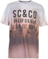 SoulCal Mens Sublime T-Shirt (Orange):