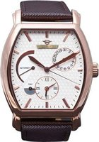 Matt Arend Le Cadre Watch (Rose Gold and White):