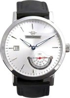 Matt Arend Deep Ocean Commitment Small Second Watch (Silver and Black):