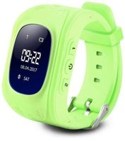 Ntech OLED M01 Kids GPS Smart Watch with Bluetooth (Green):