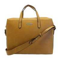 Blackcherry Tan Laptop Tote Bag: