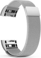 Linxure Milanese Strap for the Fitbit Charge 2 Silver - Large: