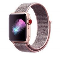 Linxure Apple Nylon Watch Band Neon Pink 38mm: