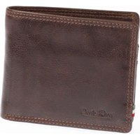 Paolo Rossi Genuine Leather Aviator Range Wallet (Brown):