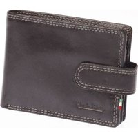 Paolo Rossi Genuine Leather Action Range Wallet (Black):