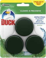 Duck Active Clean In The Cistern Toilet Cleaner Triple Pack - Green (3x45g):