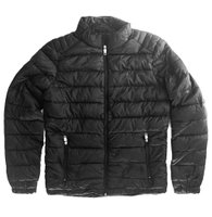 Quarry Jean Puffer Jacket (Black):