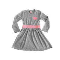Fit and flare Dress (Grey):