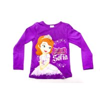 Disney Sofia Long Sleeve Character Tee (Purple):