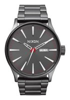 Nixon Gents Sentry SS Analogue Watch (Gunmetal):