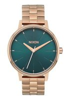 Nixon Ladies Kensington Analogue Watch (Rose Gold & Emerald):