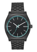 Nixon Unisex Time Teller Analogue Watch (Black & Blue):