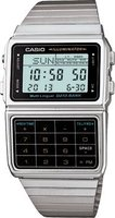 Casio Digital Databank Wrist Watch (Silver and Black):