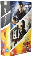 Gamer / The Book Of Eli / Snakes On A Plane (DVD): Gerard Butler, Denzel Washington, Gary Oldman, Samuel L. Jackson, Julianna...