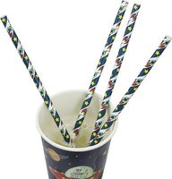 Space Adventure - Paper Straws (Pack of 25):