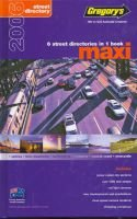 Gregorys 2006 Maxi - 6 Street Directories in 1 Book (Paperback, 18th Revised edition):
