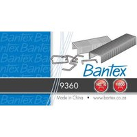 Bantex Chisel Tipped Nickel Staples (24/6)(No.16)(Box of 1000):