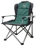Afritrail Sable Deluxe Padded Solid Arm Folding Chair: