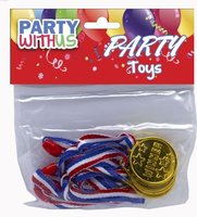 Party Favour Medal: