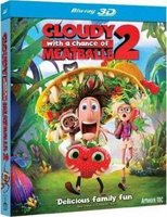 Cloudy With A Chance Of Meatballs 2 - (3D) (Blu-ray disc): Cody Cameron, Kris Pearn
