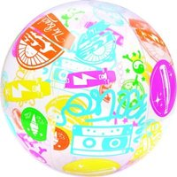 Bestway Designer Beach Ball (Multicolour) (61 cm):