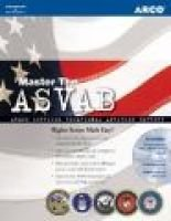 Arco Master the ASVAB (Paperback, 3rd): Scott A. Ostrow