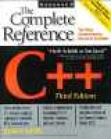 C++: the Complete Reference (Paperback, 3rd Ed): Herbert Schildt