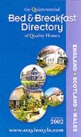 The Bed and Breakfast Directory - Quintessential Guide to Quality Homes (Paperback, Rev ed):