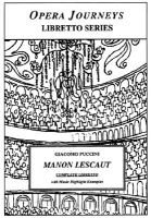 Puccini's Manon Lescaut (Electronic book text): Burton d Fisher