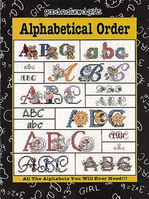 Alphabetical Order (Leisure Arts #24503) (Book): Donna Vermillion Giampa