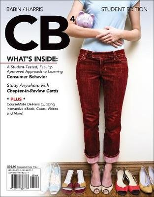CB4 (with CourseMate with Career Transitions Printed Access Card) (Paperback, 4th edition): Barry J. Babin, Eric Harris