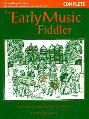 Early Music Fiddler - Complete (Paperback): Edward Huws Jones