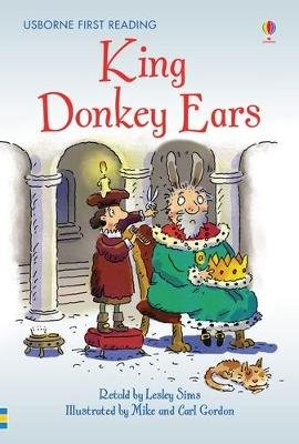 King Donkey Ears (Hardcover): Lesley Sims