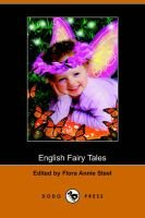 English Fairy Tales (Paperback): Flora Annie Steel