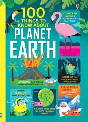 100 Things to Know About Planet Earth (Hardcover): Federico Mariani, Parko Polo