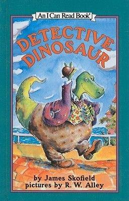 Detective Dinosaur (Hardcover): James Skofield