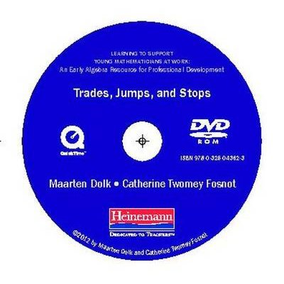 Trades, Jumps, and Stops DVD - For Learning to Support Young Mathematicians at Work (Hardcover): Maarten Dolk, Catherine Twomey...