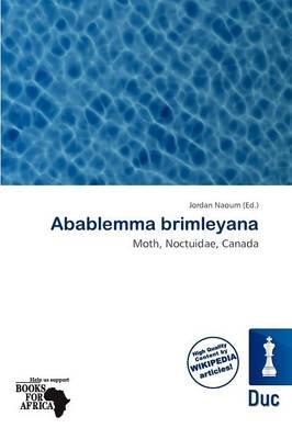 Abablemma Brimleyana (Paperback): Jordan Naoum
