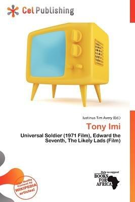 Tony IMI (Paperback): Iustinus Tim Avery