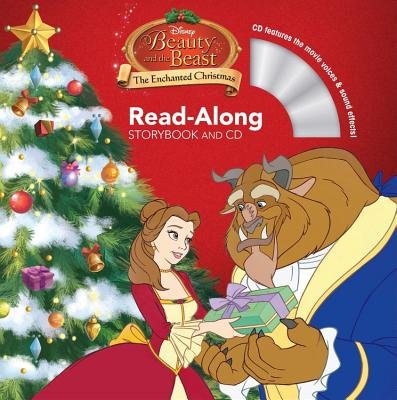 Beauty and the Beast the Enchanted Christmas Read-Along Storybook and CD (Paperback): Disney Book Group