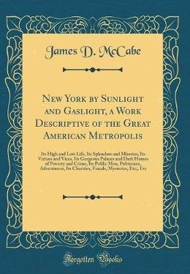 New York by Sunlight and Gaslight, a Work Descriptive of the Great American Metropolis - Its High and Low Life, Its Splendors...