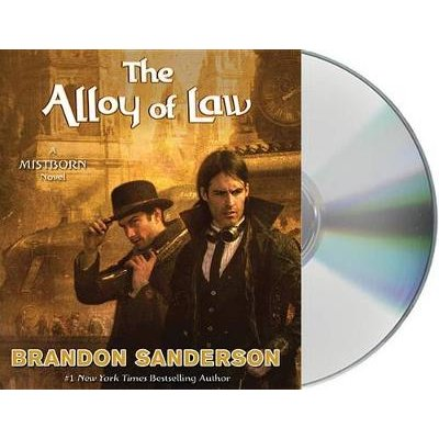 The Alloy of Law (Standard format, CD): Brandon Sanderson